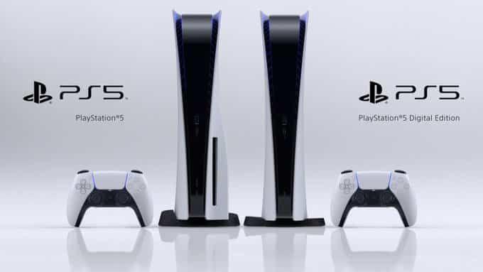PS5 regular and digital