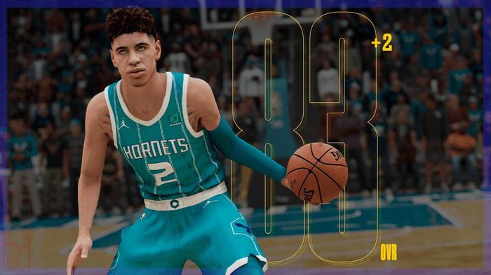 NBA 2K21 Ratings Update LaMelo Ball