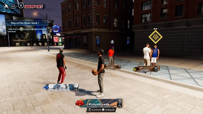 Pres inside The City in NBA 2K22