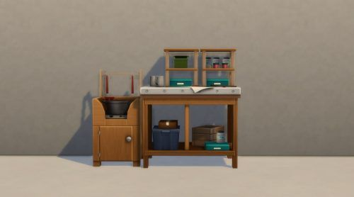 sims 4 eco lifestyle candlemaker