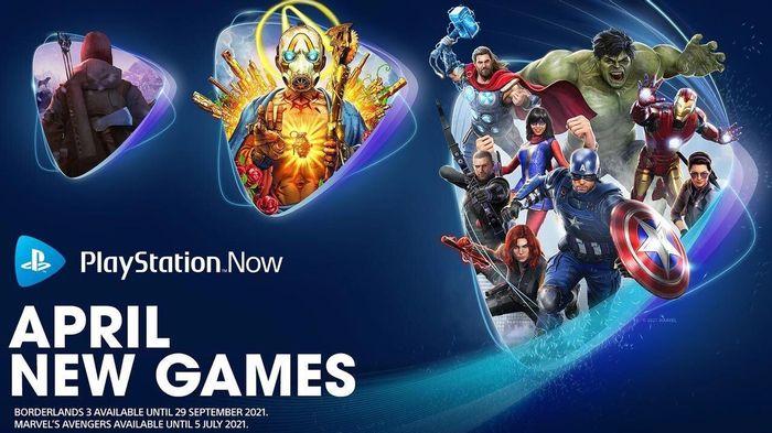 PS Now April 2021 Games