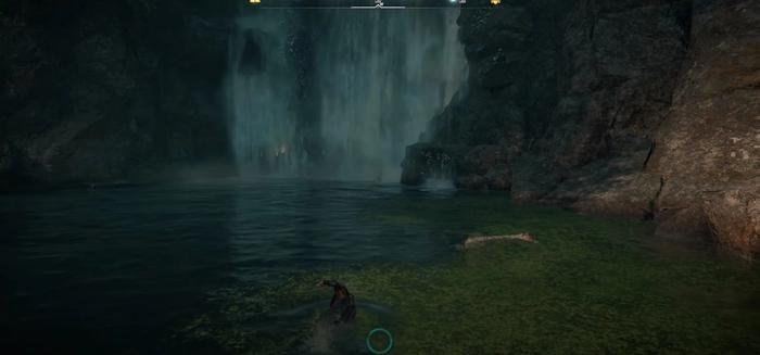 Assassins Creed Valhalla Huntsman Vambraces Waterfall