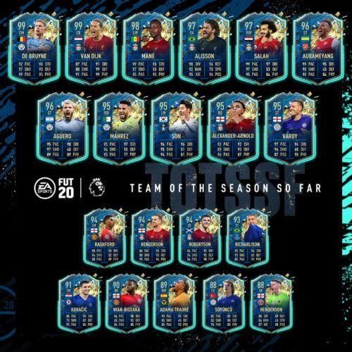 fifa 20 premier league totssf full squad