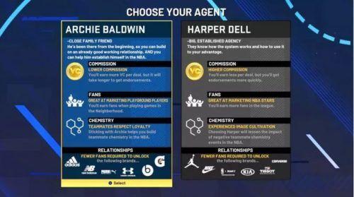 nba 2k21 Archie Baldwin vs Harper Dell