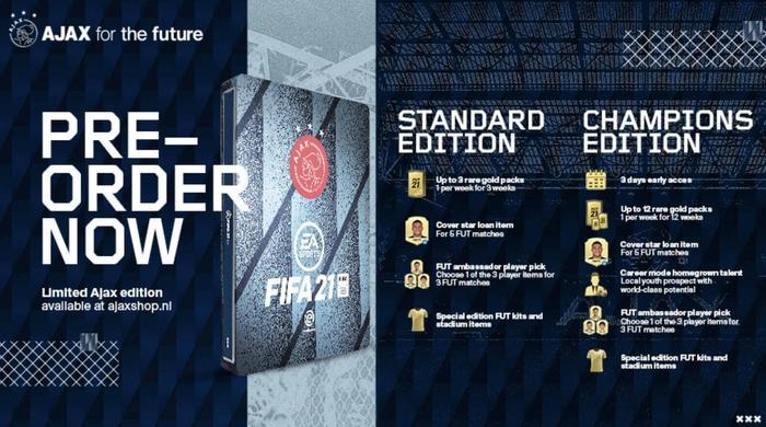 Fifa 21 ajax limited edition 1 1 1