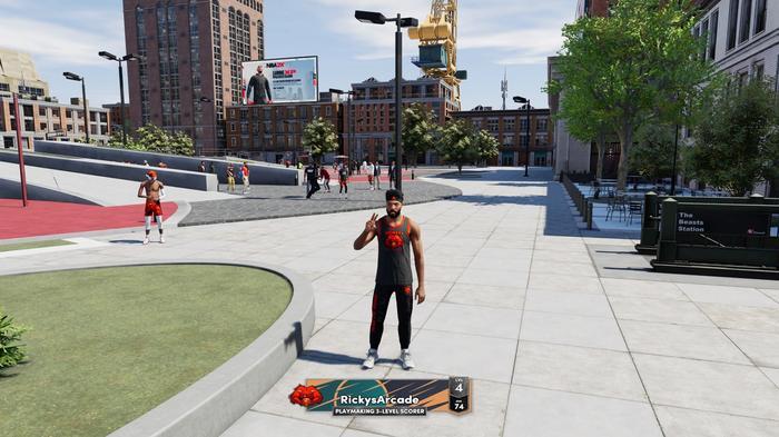 MyPLAYER in NBA 2K22