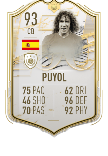 carles puyol fifa 21 ultimate team icon moments