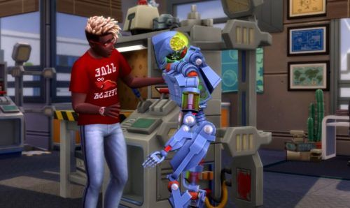 The Sims 4 - Discover University building robots