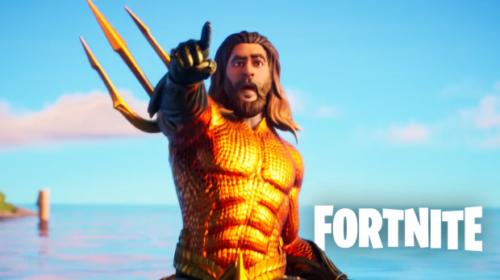 aquaman skin in fortnite season 3