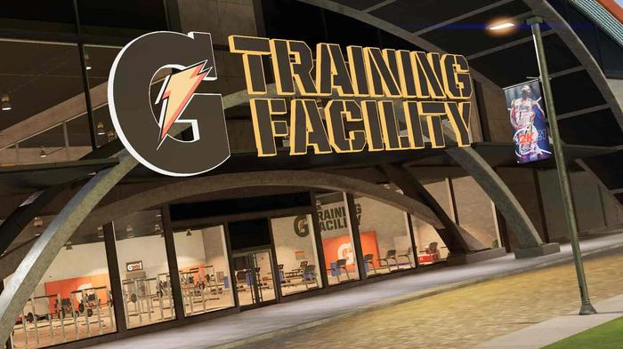 nba 2k21 the city gatorade training facility