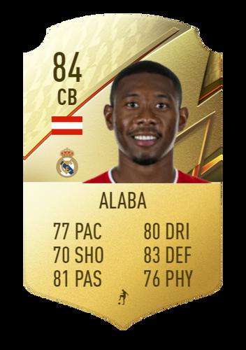 FIFA 22 David Alaba