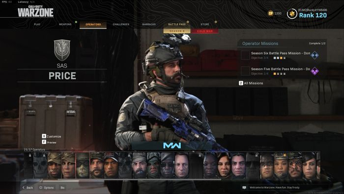 patch 1 29 organized warzone operators