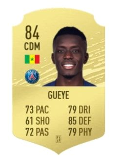 Idrissa Gueye FIFA 21