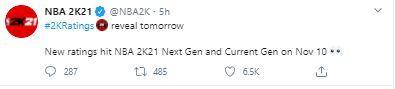 nba 2k21 next gen ratings