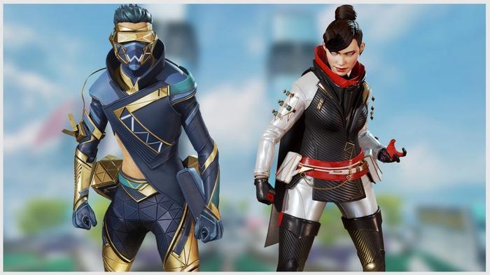 Apex Legends Season 7 Battle Pass skins Wraith Octane