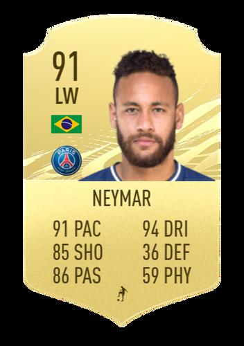 neymar fifa 22