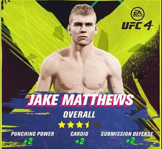 jake matthews ufc 4 ratings update