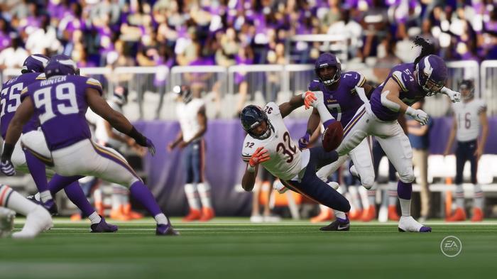 Eric Kendricks of the Minnesota Vikings in Madden 22