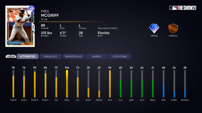 MLB The Show 21 2nd Inning Player Program Fred McGriff How to Unlock