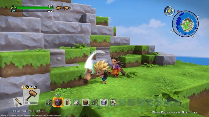 Xbox Game Pass July 2021 Dragon Quest Builders 2